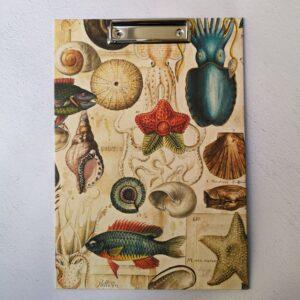 Carpeta de pinza o carpeta de clip de tamaño A4 con papel de Bomoart